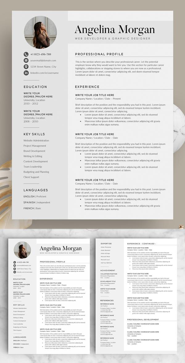 Resume / CV - The Angel