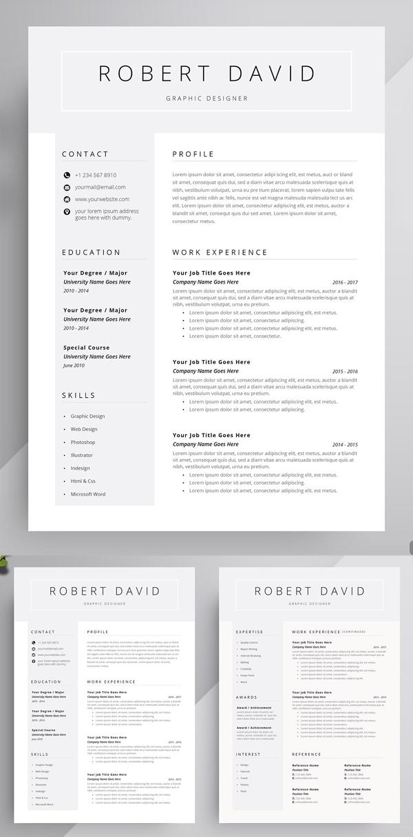 Useful Fresh Resume Template