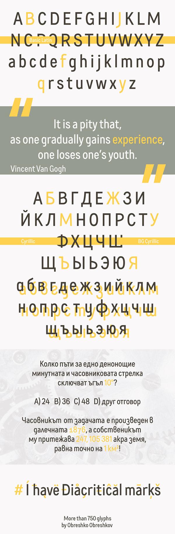 LEFTONADE Font Letters