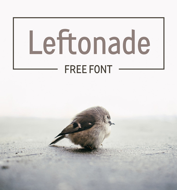 LEFTONADE Free Font