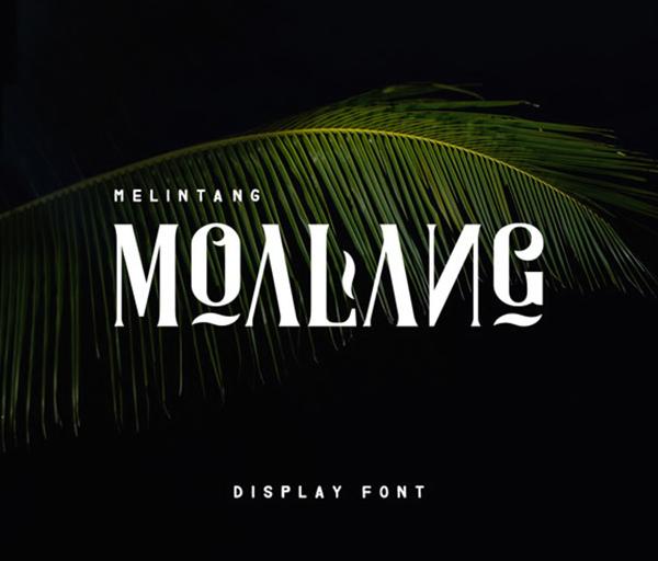 Moalang Display Free Font