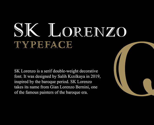 SK Lorenzo Free Font
