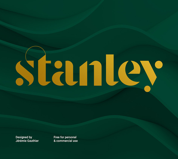 Stanley Free Font