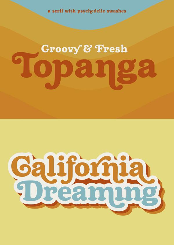 Topanga Free Font