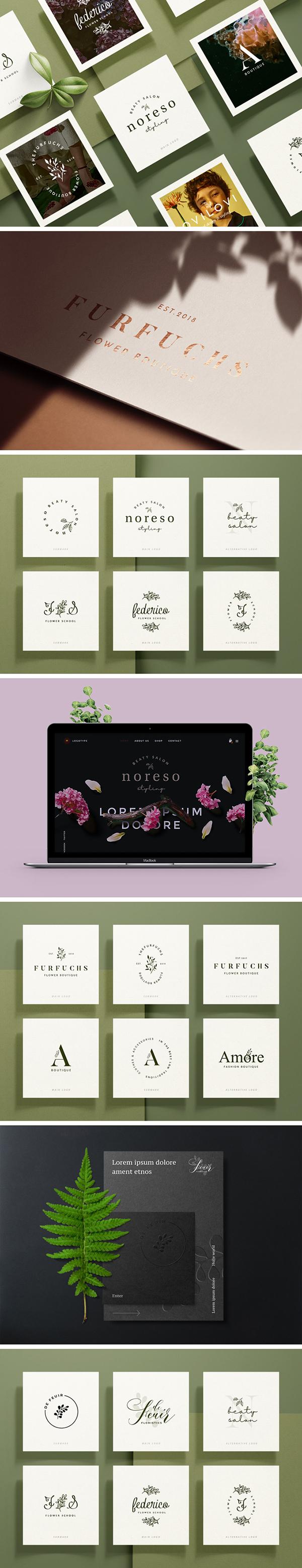 Free Botanical Logo Templates