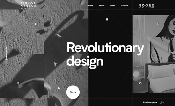 Web Design Trends 2019 - Example  31