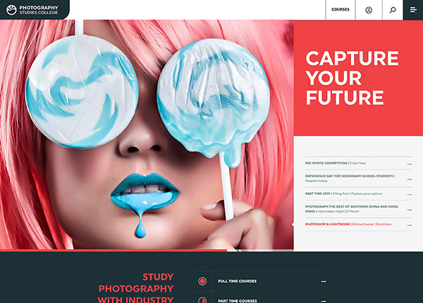 Fresh Web Design Examples That Follow New Trends - 25