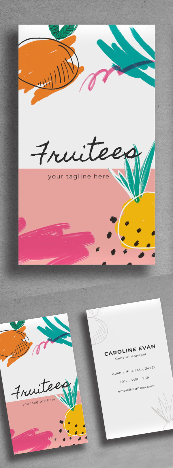 Simple Awesome Business Card Design