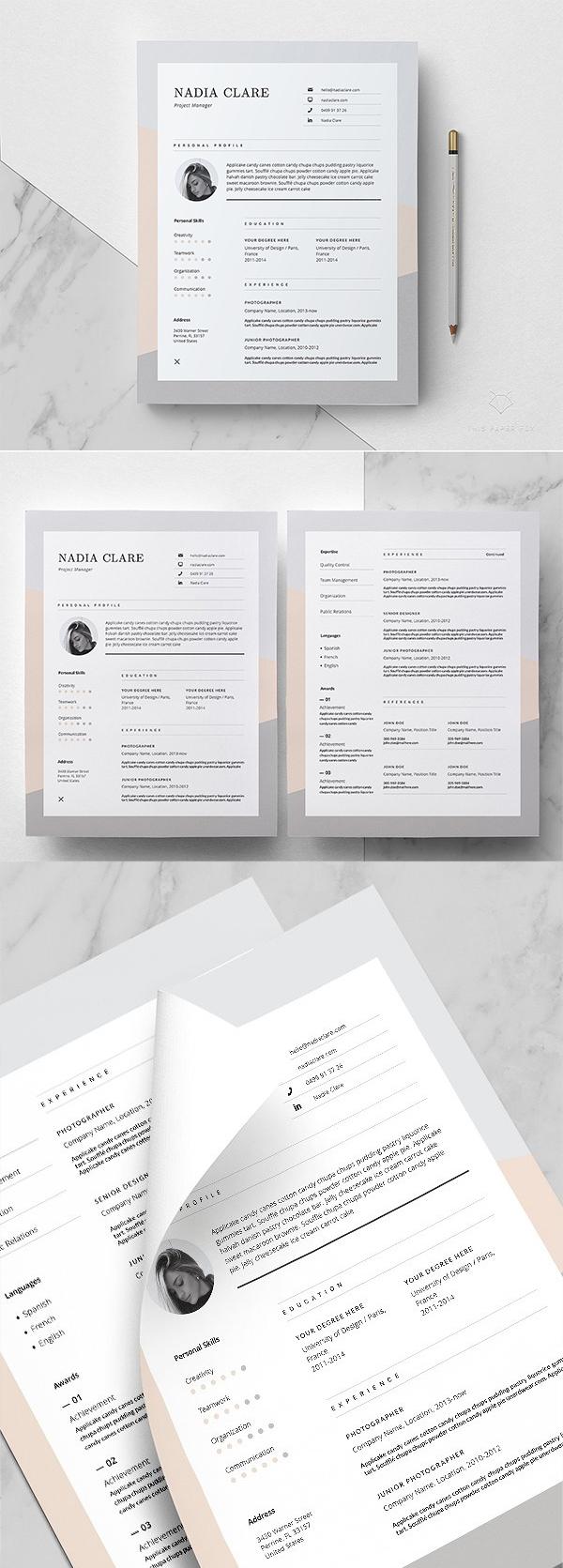 Editorial Resume Design