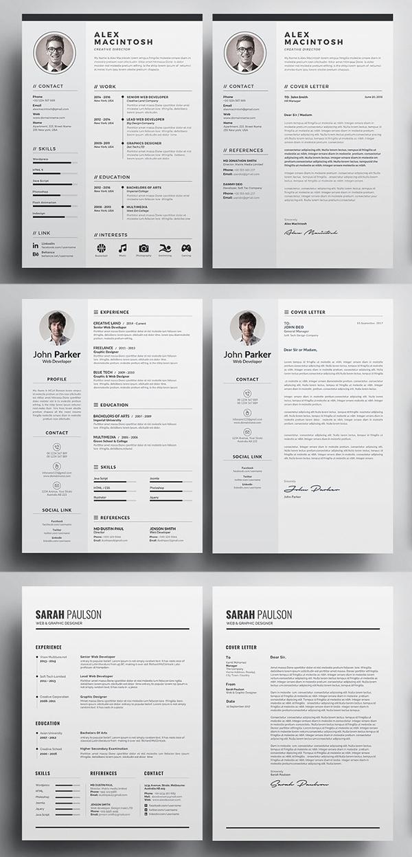 Resume/CV Bundle