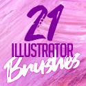 Post thumbnail of 21 High Quality Illustrator Brushes