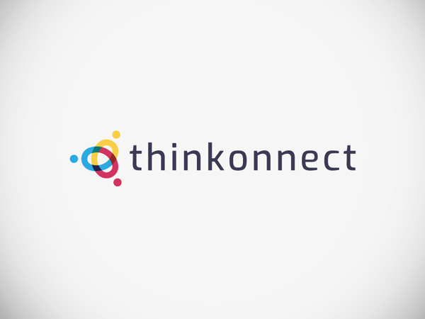 Thinkonnect Logo Design by Mohamed Soukarta