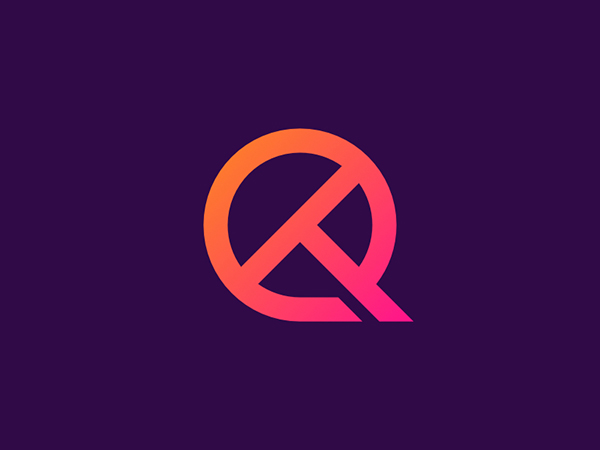 QT Letter Logo by Ilham Albab
