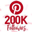 Post thumbnail of Celebrating 200,000 Pinterest followers