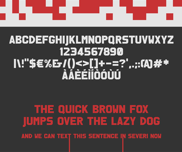 Severi Font Letters