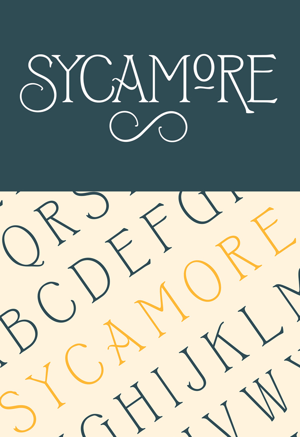 Sycamore Free Font