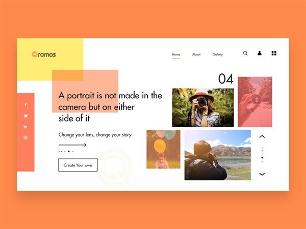 50 Modern Web UI Design Concepts with Amazing UX - 14