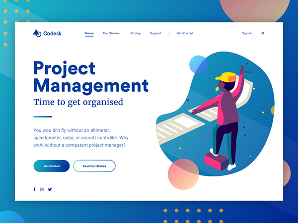 50 Modern Web UI Design Concepts with Amazing UX - 15