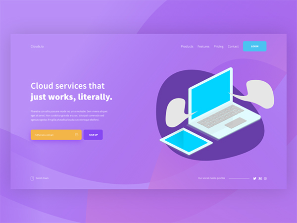 50 Modern Web UI Design Concepts with Amazing UX - 19