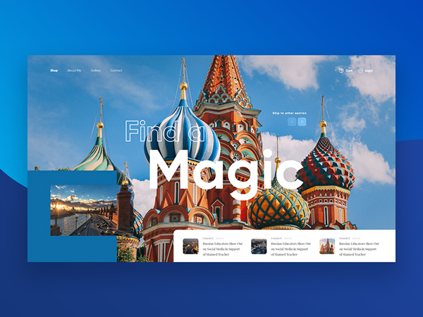 50 Modern Web UI Design Concepts with Amazing UX - 29