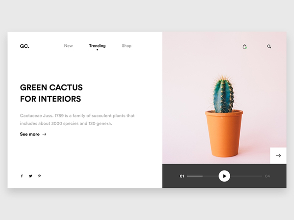 50 Modern Web UI Design Concepts with Amazing UX - 30