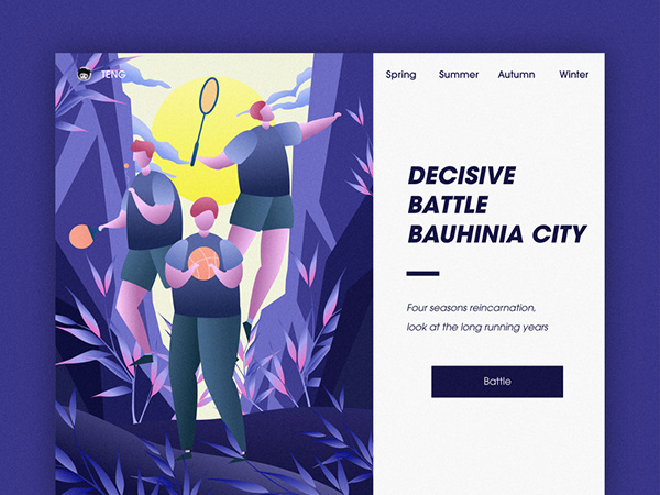 50 Modern Web UI Design Concepts with Amazing UX - 42