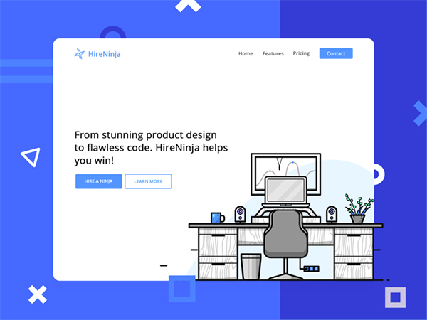 50 Modern Web UI Design Concepts with Amazing UX - 5