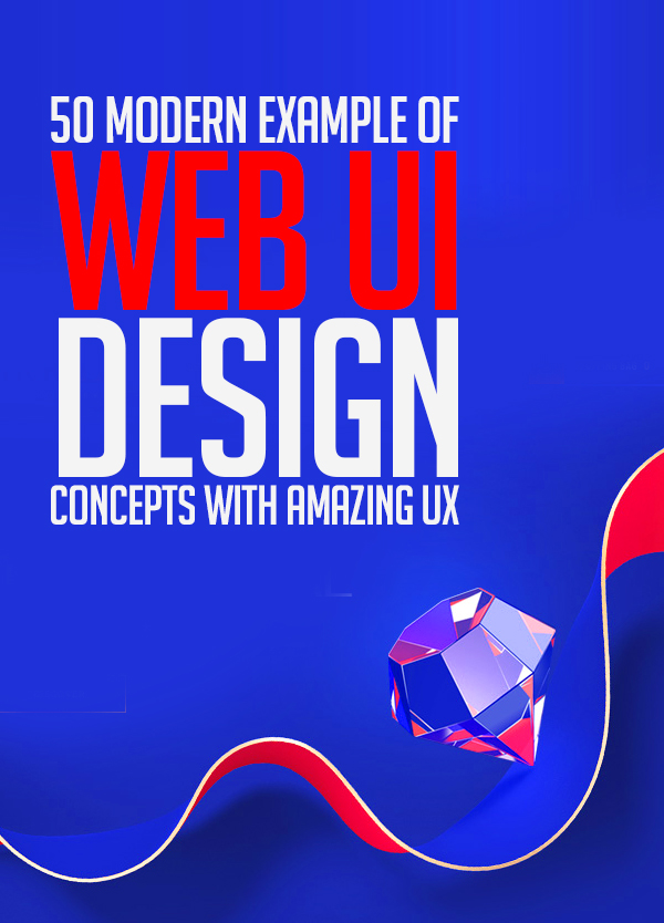 50 Modern Web UI Design Concepts with Amazing UX