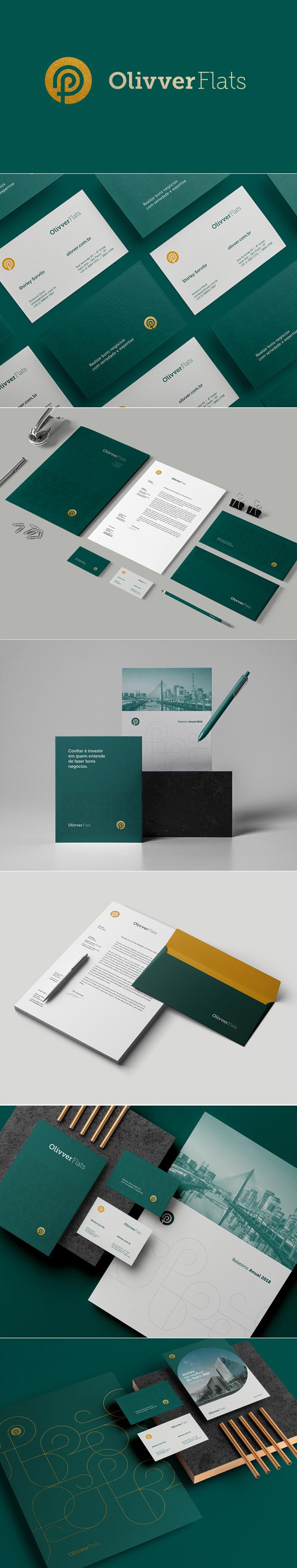 Branding: OLivver Flats Branding by John Dias