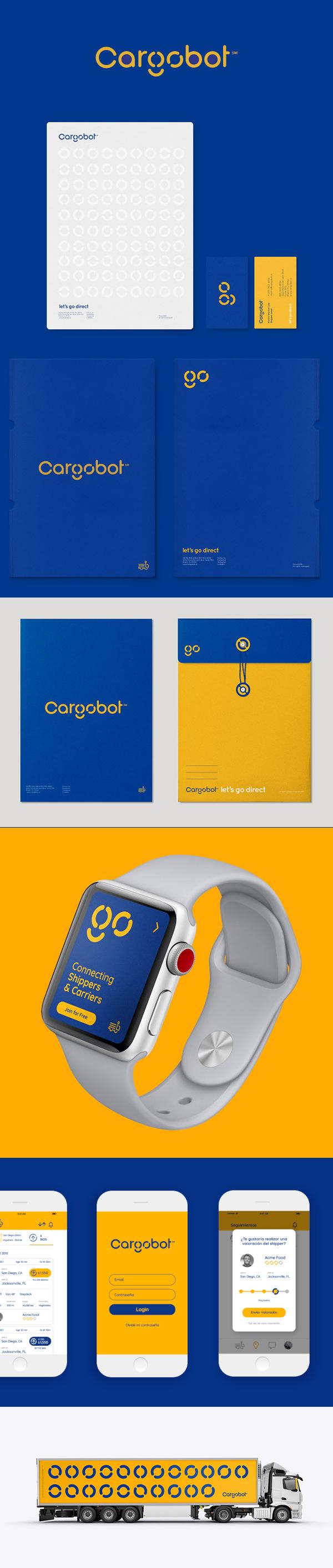Branding: Cargobot Digital Global Branding by hachetresele