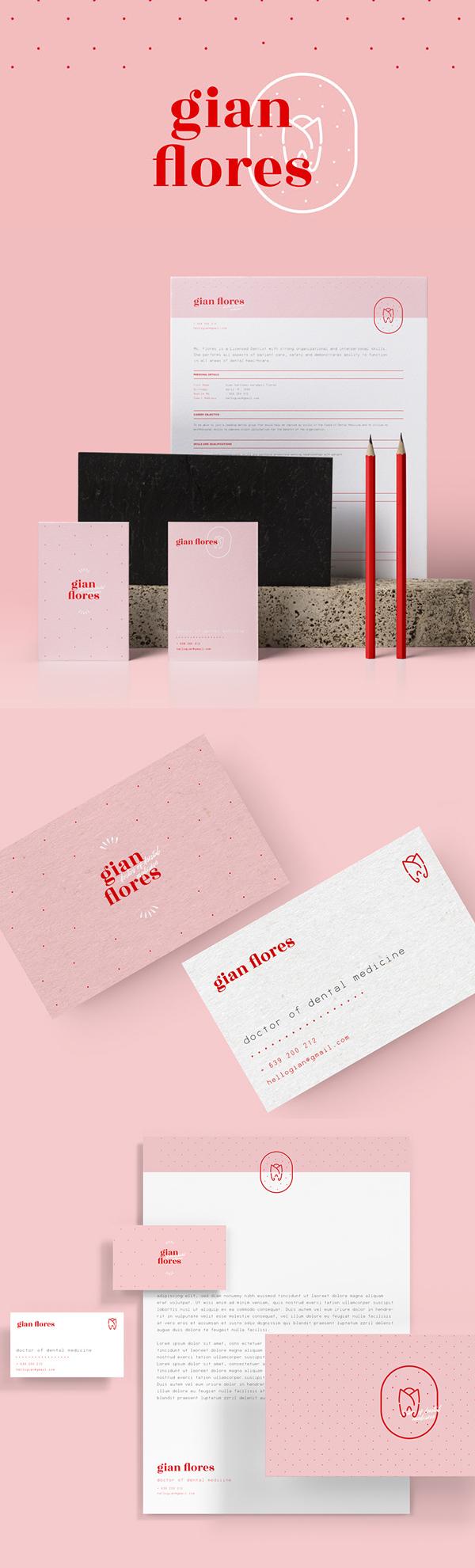 Branding: Dr. Gian Flores: Personal Identity branding by Princess Nicole Castañeda