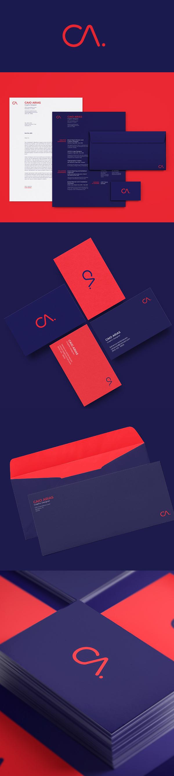 Branding: Caio Arias Personal Branding by Caio Arias
