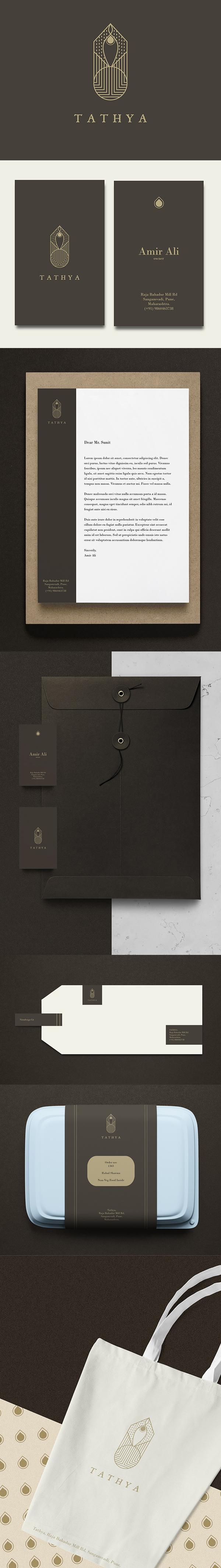 Branding: TATHYA Branding & Identity Design by Karan Gujar