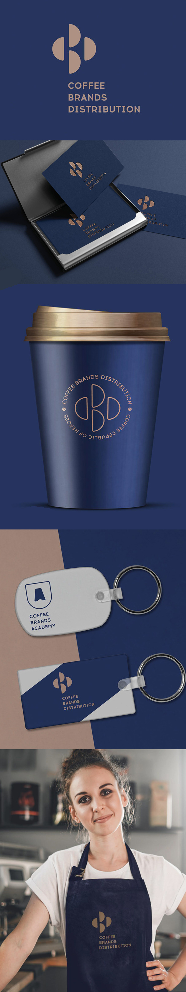 Branding: Cofee Brands Distribution by High School of Branding