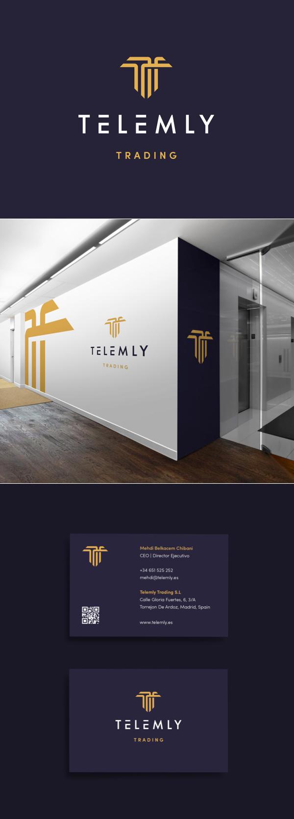 Branding: Tlmly Branding by Michael Barney
