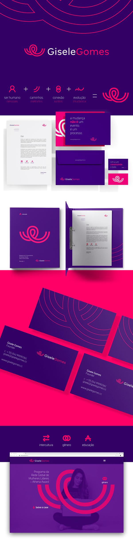 Branding: GISELE GOMES Branding by Meteora Brands