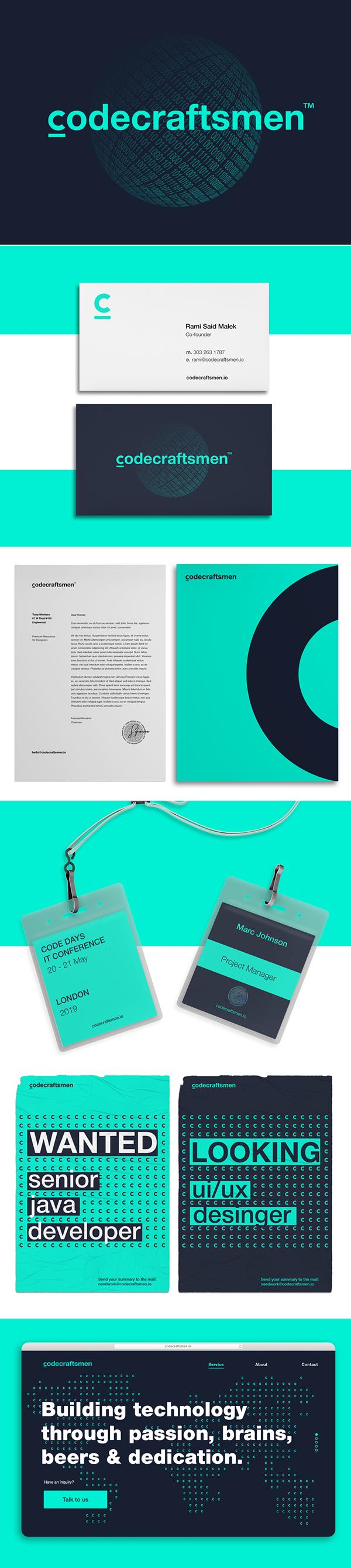 Branding: CodeCraftsmen Branding and Website by Kir.Ko Team