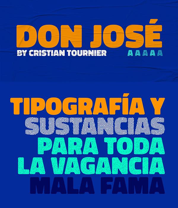 Don Jose Free Font