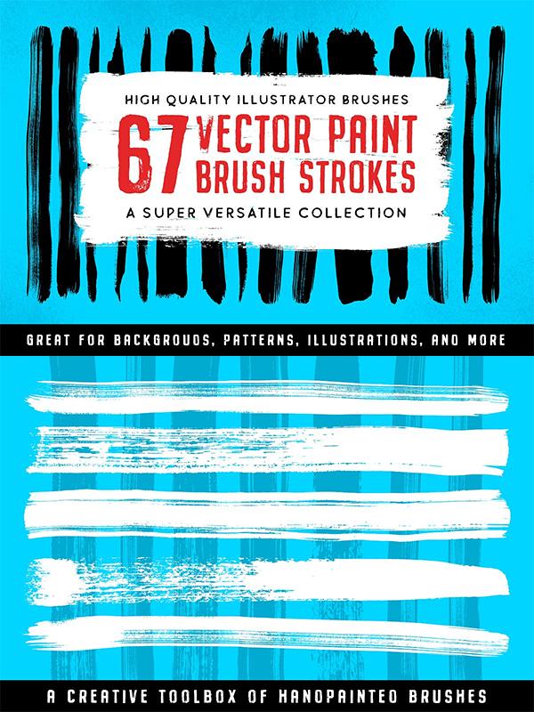 Illustrator Paint Stroke Brushes