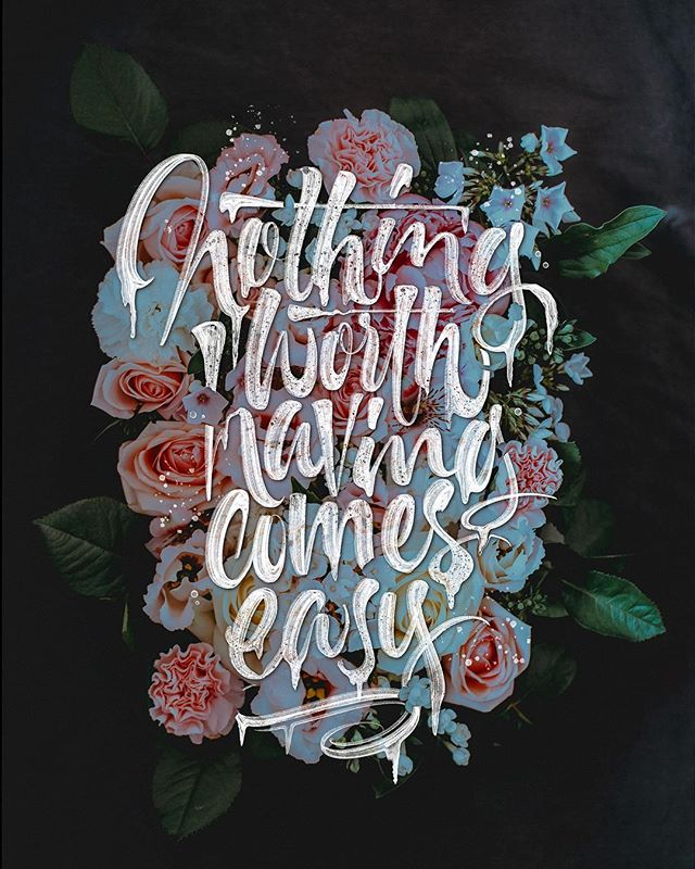 Handmade Lettering and Typography Designs - 25