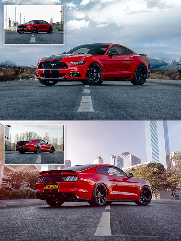 How To Composite a Car onto a New Background in Photoshop