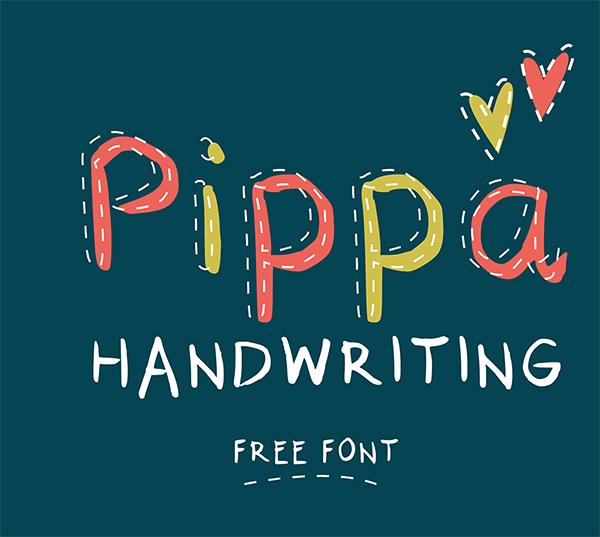 Pippa Handwriting Free Font