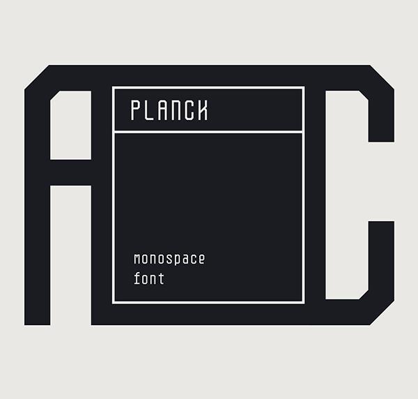 Planck Narrow Monospace Free Font