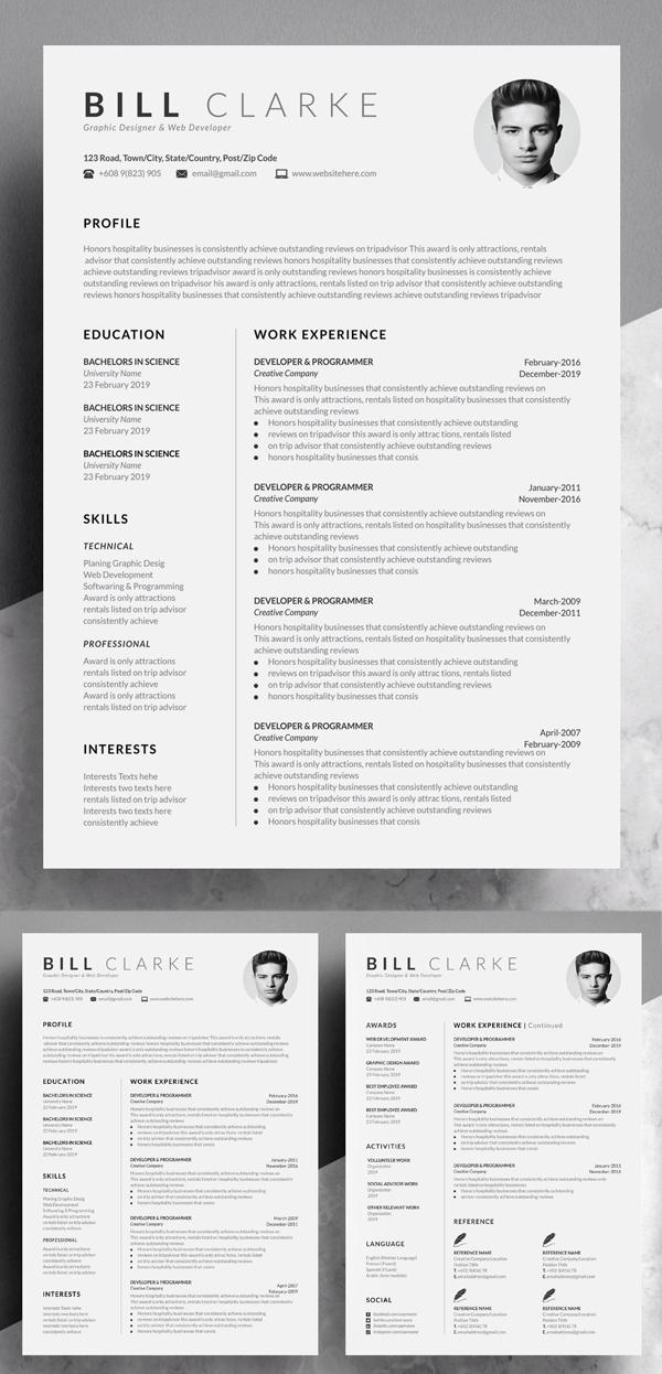 Word Resume & Cover Letter