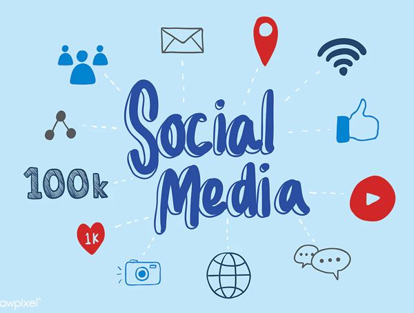 Social media is your friend