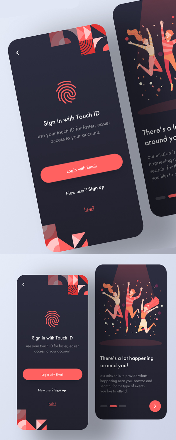 25 Modern Mobile App UI Design with Amazing UX ...