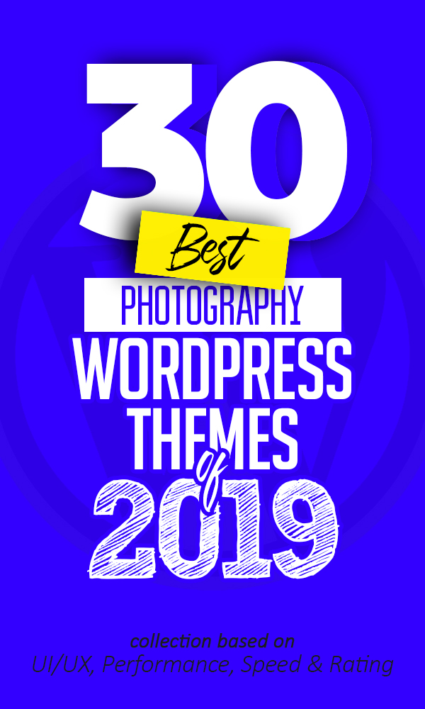 30 Best Photography WordPress Themes for Photographers