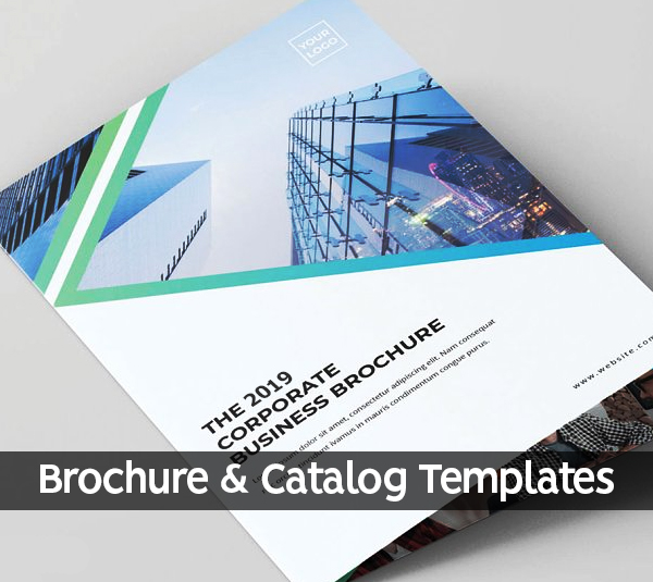23 New Professional Brochure and Catalog Templates for Inspiration
