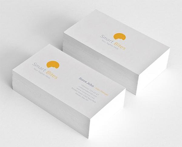 Minimal Grid Business Card