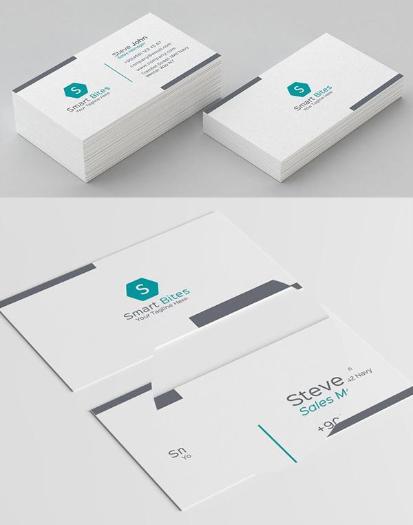 Minimal Pattern Business Card